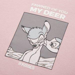 $14.9起 收奇奇&蒂蒂T恤UNIQLO x 迪士尼小动物 系列联名 爆款斑比小鹿补货