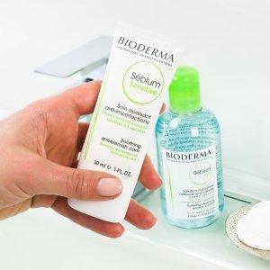 定价超低+精选8.5折Bioderma 净妍控油绿瓶系列热促 专为油皮设计 清爽到家