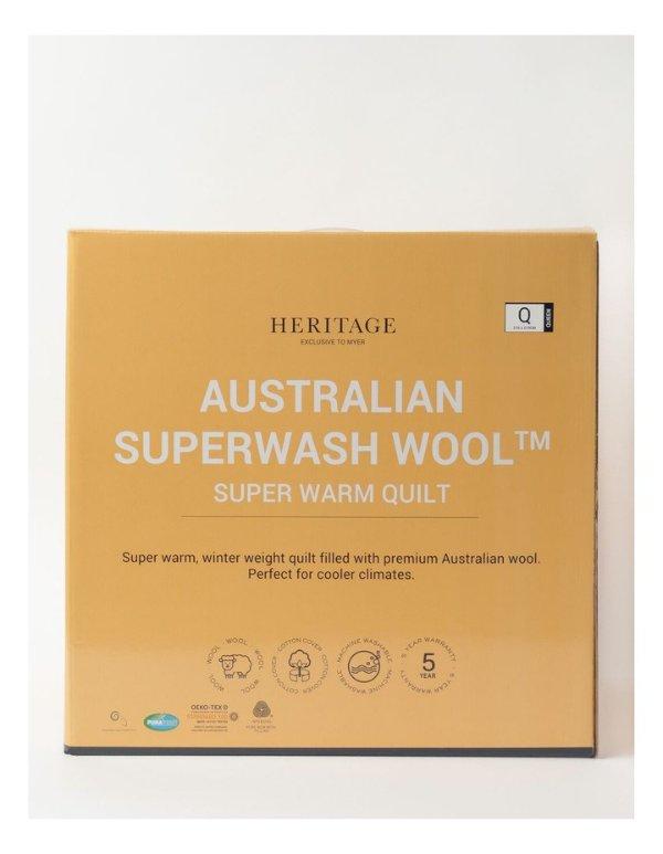 可水洗澳洲羊毛被