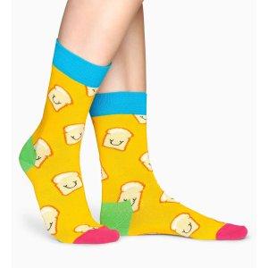 Happy Socks吐司袜