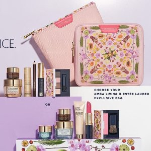 Free Gifts(up to $145 value)with $37.5 Estee Lauder Purchase @ Dillard's
