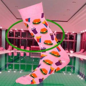 低至6折 €20.97收四双礼盒Happy Socks官网热促 速收彩色搞怪萌袜 秀出个性 拥有好心情