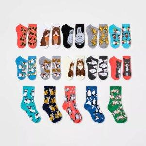 小猫主题袜子 15双