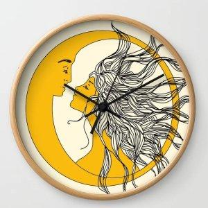 首单7折优惠 收晒货爆款定制时钟Society6 墙面装饰表 给你无限大的想象 你的创意美学家