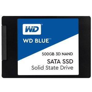 史低价:DIY 爱好者、系统架构师最爱的WD Blue™ 3D, 500 GB SSD