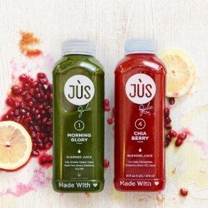 最高减$80 三天量仅需$75+免邮Jus By Julie 全场清肠蔬果汁热卖