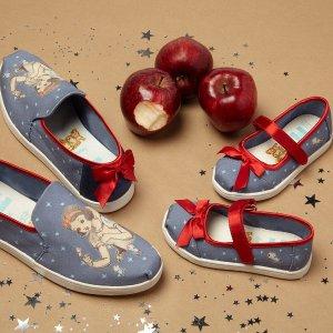 全场免邮 $17.99起 收迪斯尼合作款即将截止:TOMS官网 童鞋热卖,妈咪可穿大童凑亲子款