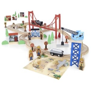 Imaginarium 80+ Piece Mega Train World