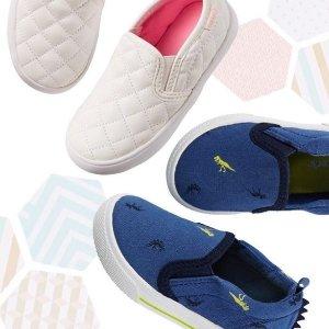 75折 魔术贴运动鞋、雨靴任选Carter's 童鞋中的VIP, 春季运动鞋、雨靴