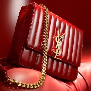 至高送$700礼卡 收新款Vicky相机包Saint Laurent 女士Y扣链条包,风琴包等热卖 入经典链条包