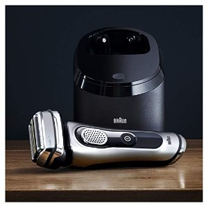 $219.94 Braun Electric Shaver, Series 9 9290cc Men's Electric Razor/Electric Foil Shaver, Wet & Dry, Travel Case with Clean & Charge System
