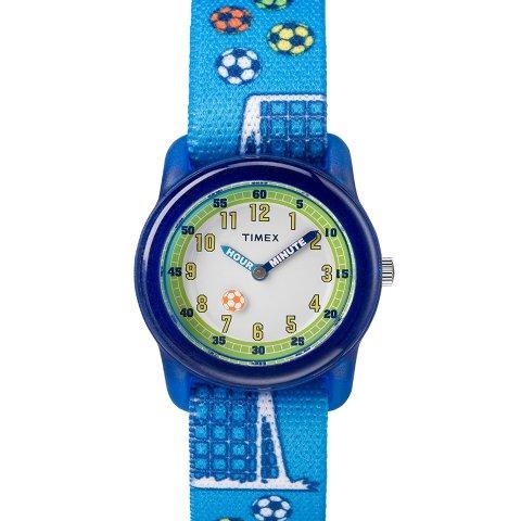 Timex Boys Time Machines Elastic Fabric Strap Watch