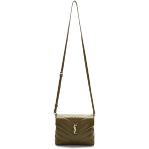 Saint Laurent- Green Toy Loulou Bag