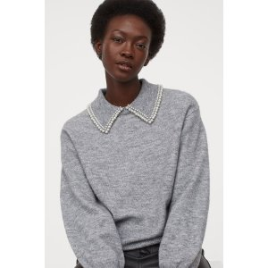 H&M20% Off $100Collared Sweater