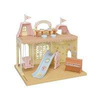 Calico critters 城堡造型婴儿房