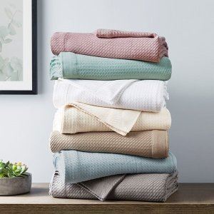 Madison Park100% Certified Egyptian Cotton Blanket By Madison Park - Designer Living