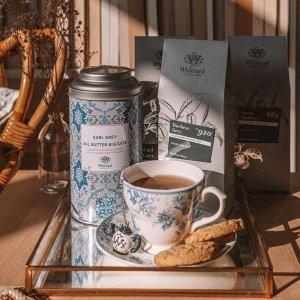 新用户无门槛8.5折即将截止:Whittard 招牌散装茶热卖 回国伴手礼&自制奶茶神器