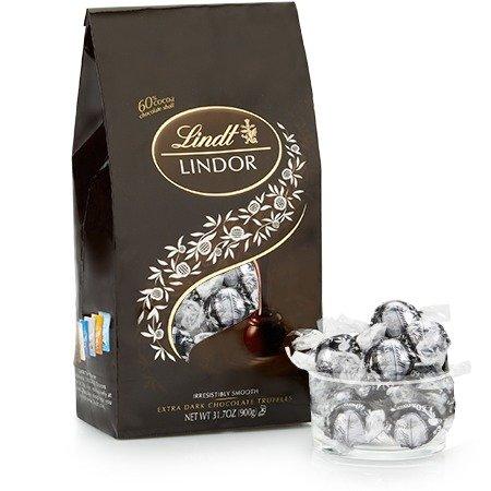 60%香浓松露黑巧克力礼包75颗装
