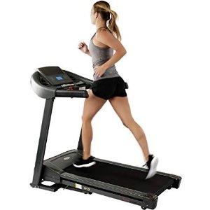 Amazon Sunny Health & Fitness T7643 Heavy Duty Walking Treadmill