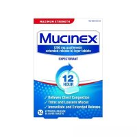 Mucinex 强效缓解胸闷片