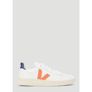 VejaV-10 橙V小白鞋
