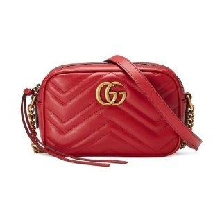 无门槛8.5折 £680收封面款相机包上新:Gucci 全场罕见折扣上线 Marmont、乐福鞋、小白鞋都有