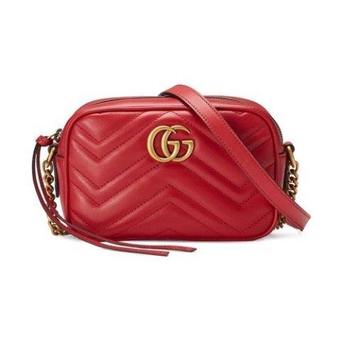 无门槛8.5折 £680收封面相机包上新:Gucci 惊喜折扣悄悄来袭 Marmont、乐福鞋、小白鞋都有