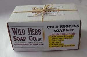 Soap Making Kit DIY - LEARN to make Cold Process Natural Glycerin Soap