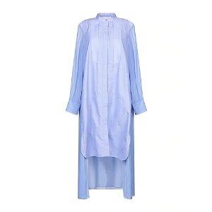 CHLOE淡蓝色衬衫裙