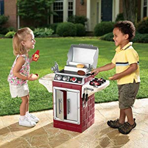$37(原价$66.3)史低价:Little Tikes 儿童仿真玩具烧烤炉