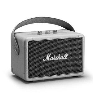 $199 (原价$299.99)即将截止:新品 Marshall Kilburn II 2代 便携式复古蓝牙音箱 银灰色
