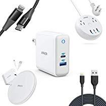 60W PD快充$31.99Anker USB-C, Lightning 充电器、数据线 等配件限时特卖