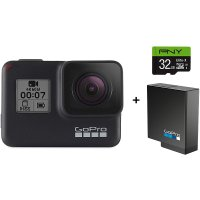 GoPro HERO7 Black 运动相机 + 额外电池 + 32GB U3 存储卡
