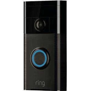 $134.83 红外夜视Ring Video Doorbell 智能视屏门铃