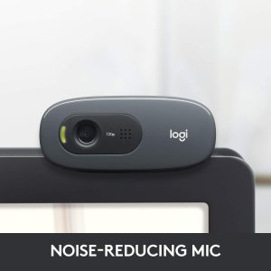Logitech C270 HD 高清网络摄像头 6.8折特价