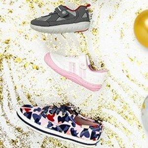 4折起+下次购物减$10折扣升级:Stride Rite 儿童鞋履季末促销