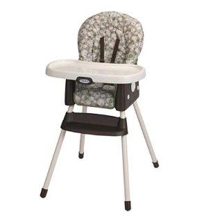 $38.98(原价$79.99)史低价:Graco Simpleswitch 便携式2合1儿童高脚餐椅