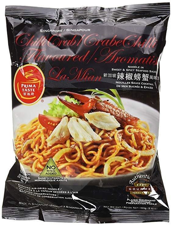 新加坡辣椒螃蟹味