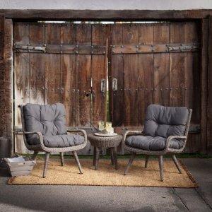 额外9折 $359收户外沙发套装Hayneedle 冬日户外家居反季促销 低至5折