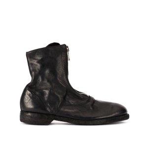 Guidi210 拉链靴子