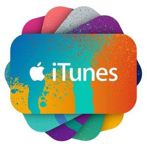 变相8折App Store & iTunes 电子礼卡 买$100减$20