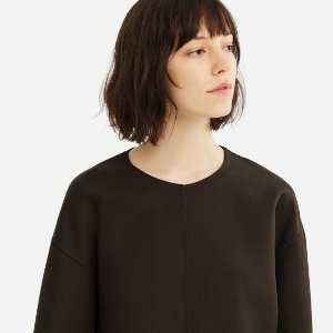 $19.9(原价$99.9)Uniqlo优衣库 羊毛混纺女士上衣 2色可选,码全