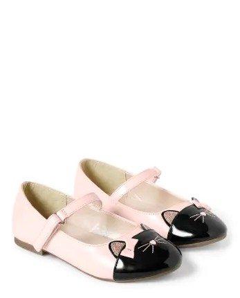 女童玛丽珍平底鞋