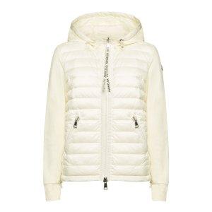 Moncler- Zip Front 拼接羽绒外套