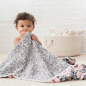 7.5折Aden and Anais 婴儿包巾、睡衣、围嘴等亲友会热卖 柔软亲肤