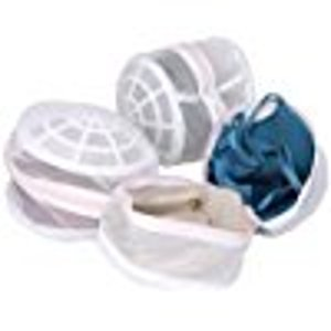 Laundry Science Premium Bra Wash Bag for Intimates Lingerie and Delicates In White (Pack-of-3)