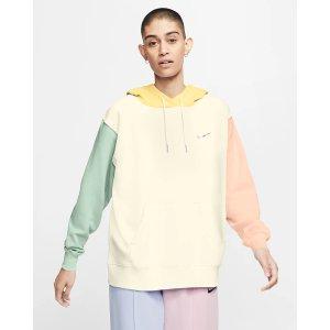 Nike马卡龙拼色卫衣