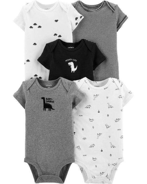 婴儿包臀衫5件套