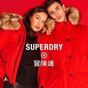 低至5折 海量单品等你来Superdry官网 季中清仓大促 美式T恤$29、蜜桃粉外套$99