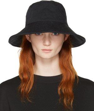 Acne Studios: Black Bob Hat | SSENSE